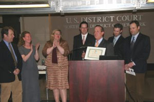 Commissioner presents 'Elizabeth Griffin Award' to Albany Housing Authority