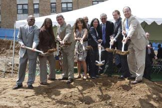 Breaking ground on Riverdale Apartments