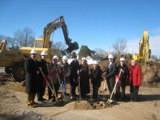 TCAP funds helped to jumpstart Catherine Gardens in Plattsburgh, which had been stalled by a funding gap. Acting Commissioner Brian Lawlor (3rd from right) joined Plattsburgh Mayor Donald M. Kasprzak, Assemblywoman Janet Duprey and members of the development team for a recent groundbreaking.